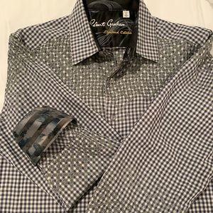 Robert Graham  Men's shirt-size Large